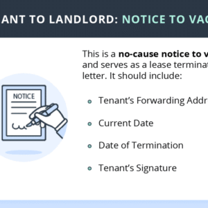 How to Write a Notice to Vacate Letter?